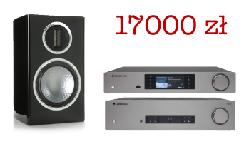 Cambridge Audio CXA81 + CXN v2 + Monitor Audio Gold 100 Czarne