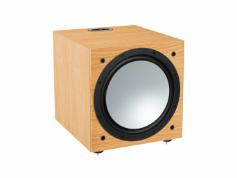 Monitor Audio Silver W12 Naturalny dąb subwoofer