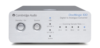 Cambridge Audio DacMagic 100 srebrny